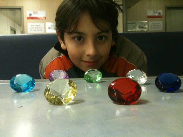 Anakin and the Chaos Emeralds