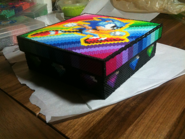 Sonic the Hedge Hog Box Sides