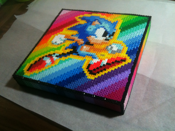 Sonic the Hedgehog Lid for Box